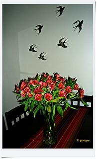 Adorno floral (Astromelias) P1090391EP