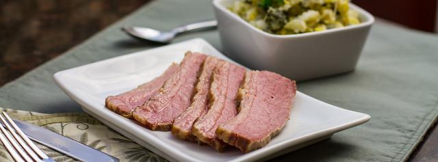 Corned Beef & Colcannon