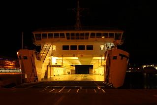 Nightferry in Split