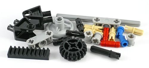 LEGO Creator 31030 Red Go-Kart elements
