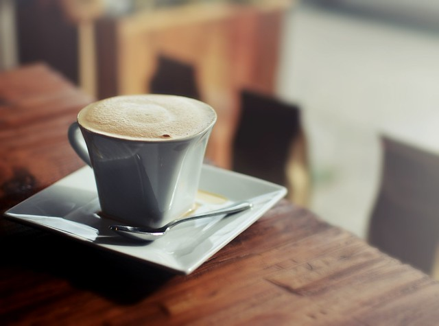 Flat White ~ Aharon Coffee, Los Angeles