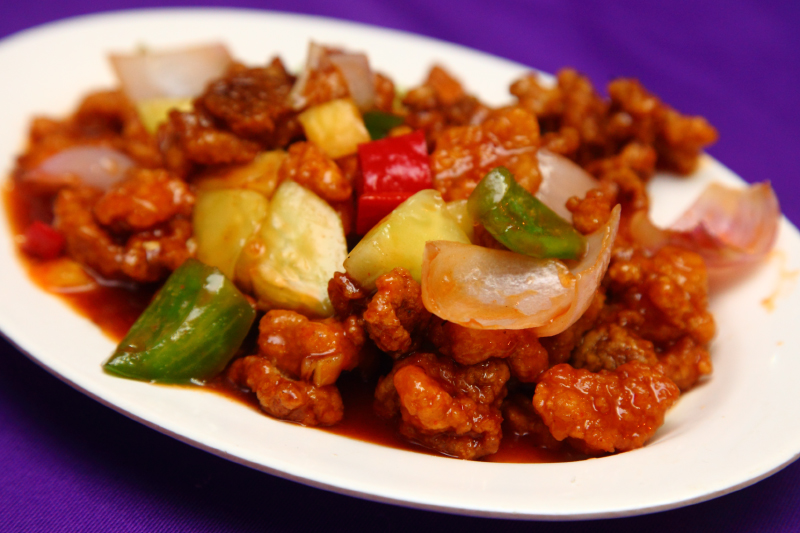 Snow Beer Sweet-Sour-Pork