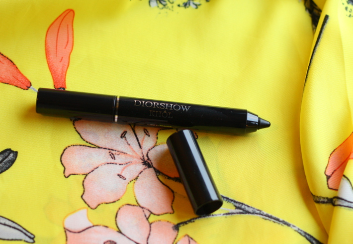 dior kingdom of colors kohl smokey black review swatch