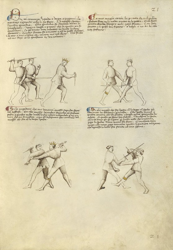 Combat with Dagger and Sword