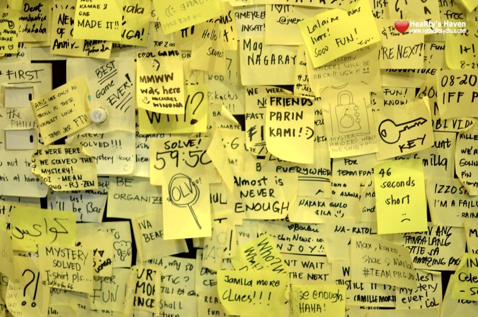 Mystery Manila Notes