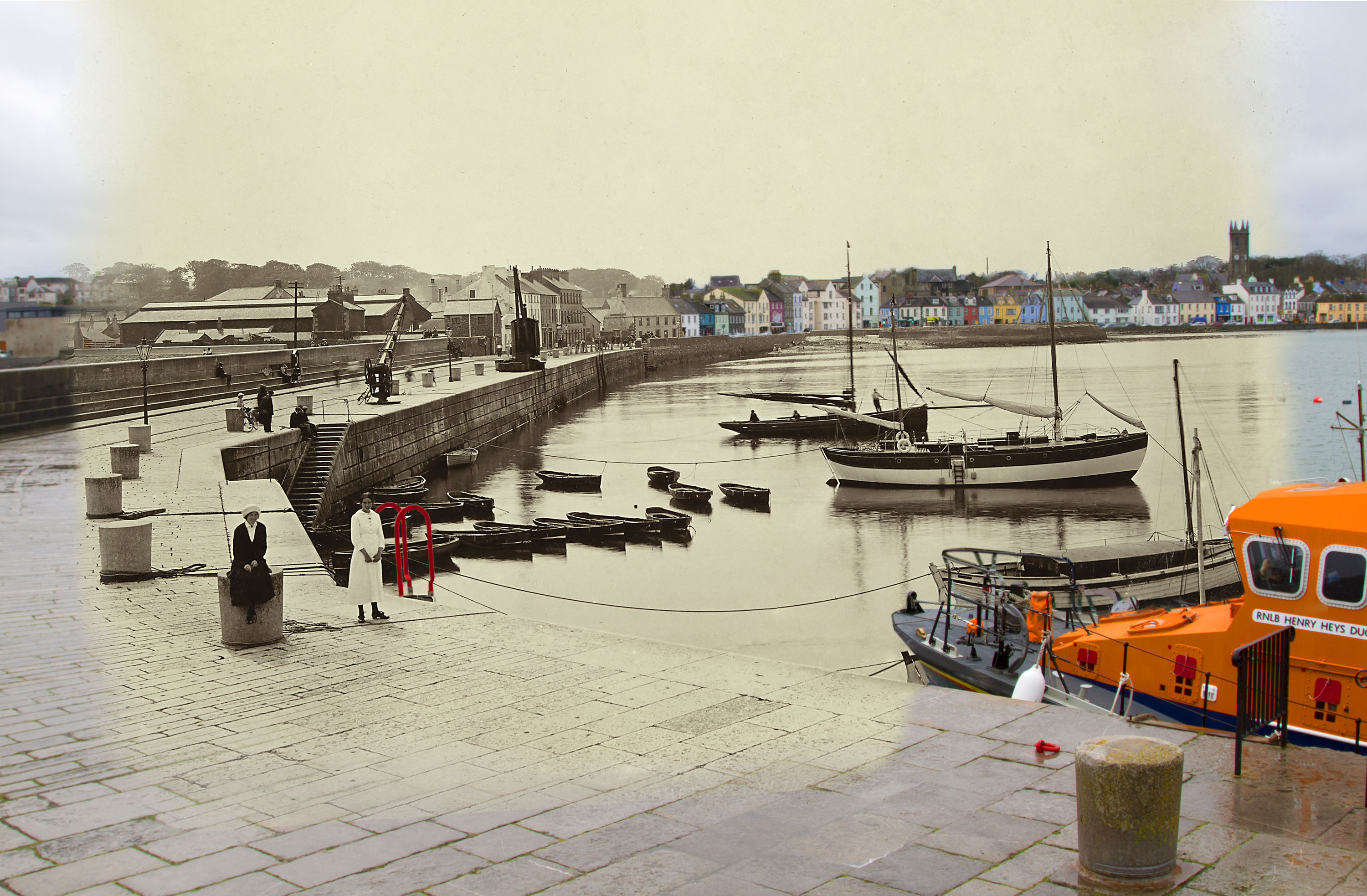 Donaghadee Harbour, County Down