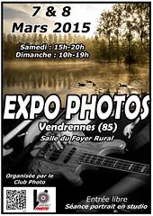 Affiche expo photos