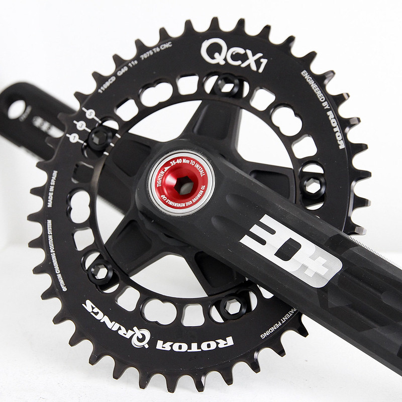 ROTOR / 3D+ CX1 CRANKS / FOR CYCLOCROSS