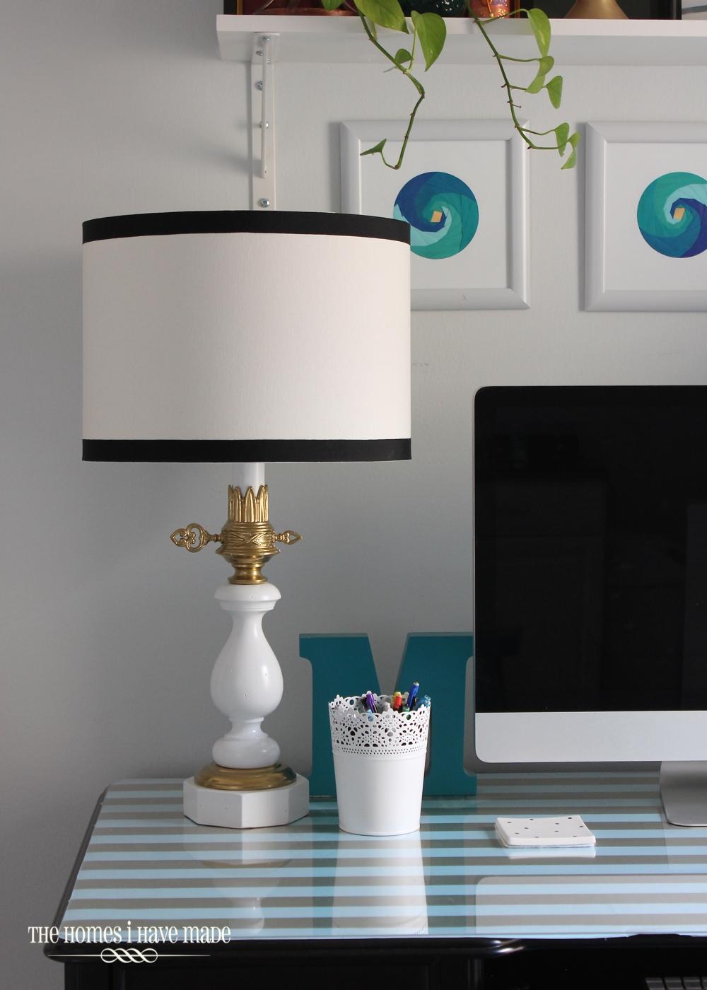 Vintage Lamp Makeover-002