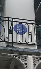 Photo of George Basevi blue plaque