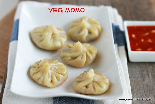 MOMOS RECIPE | VEG MOMOS RECIPE | Jeyashri's Kitchen