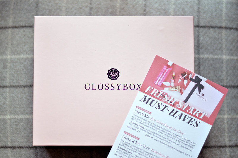 beauty box glossybox january 2015 rottenotter rotten otter blog 2