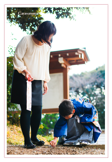 七五三写真 ロケーション撮影 出張撮影 着物 愛知県尾張旭市 多度神社 自宅 愛知県森林公園