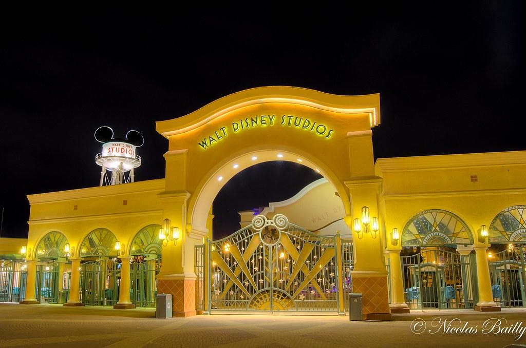 Entrance Of Walt Disney's Studios