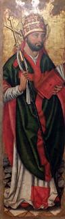 Pere Terrencs. Fragmentos del retablo de San Agustín y Sin Gregorio. Final del XV.