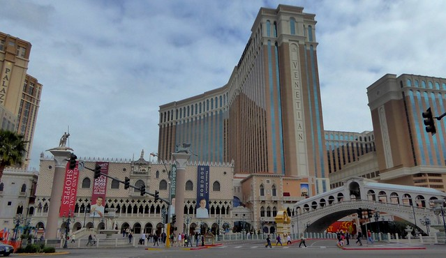 The Facade of the Venetian