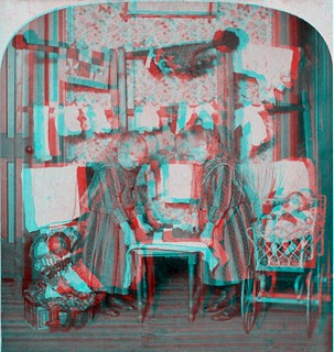 Ironing Day- anaglyph