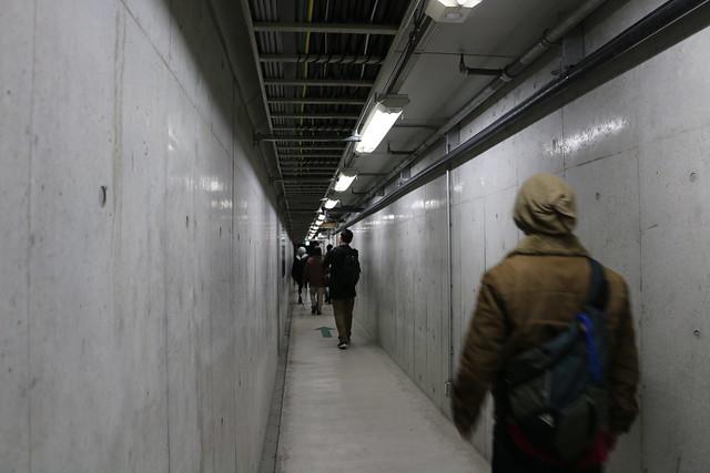 山手トンネル 首都高 中央環状線 山手トンネルウォーク