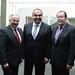 Achim Barchmann & Josip Juratovic mit dem mazedonischen Vize-Premierminister Vladimir Peshevski
