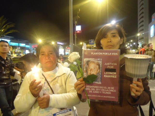 Una luz mundial por los desaparecidos