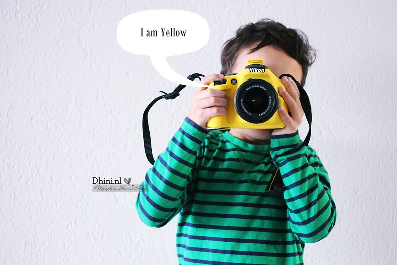 Nikon - I am yellow