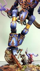 Slanneshi Knight Titan by Arklight Studio