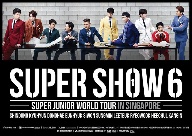 Super Show 6 in Singapore sgXCLUSIVE