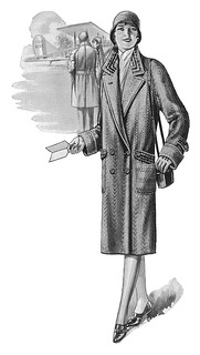 Detail from a 1930 County Coat ad