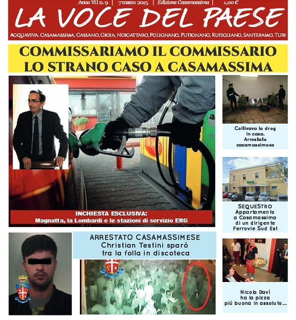 la voce del paese casamassima 7 marzo 2015 copertina