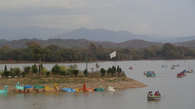 A Lake in Chandigarh