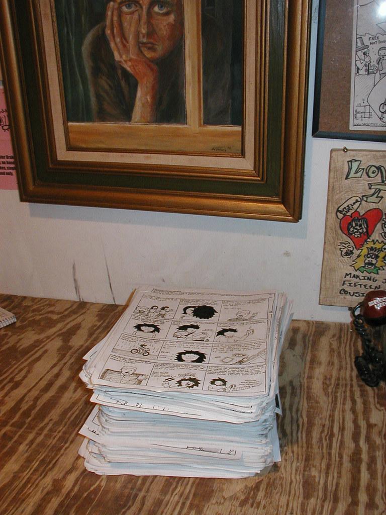 9 + years worth of daily comics. http://drawnpoorly.com/