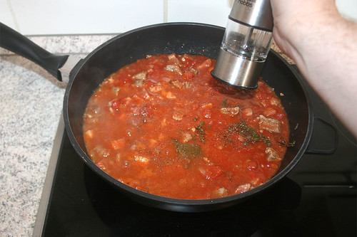 44 - Mit Salz & Pfeffer würzen / Taste with salt & pepper