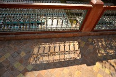 Grille shadows and mosaic