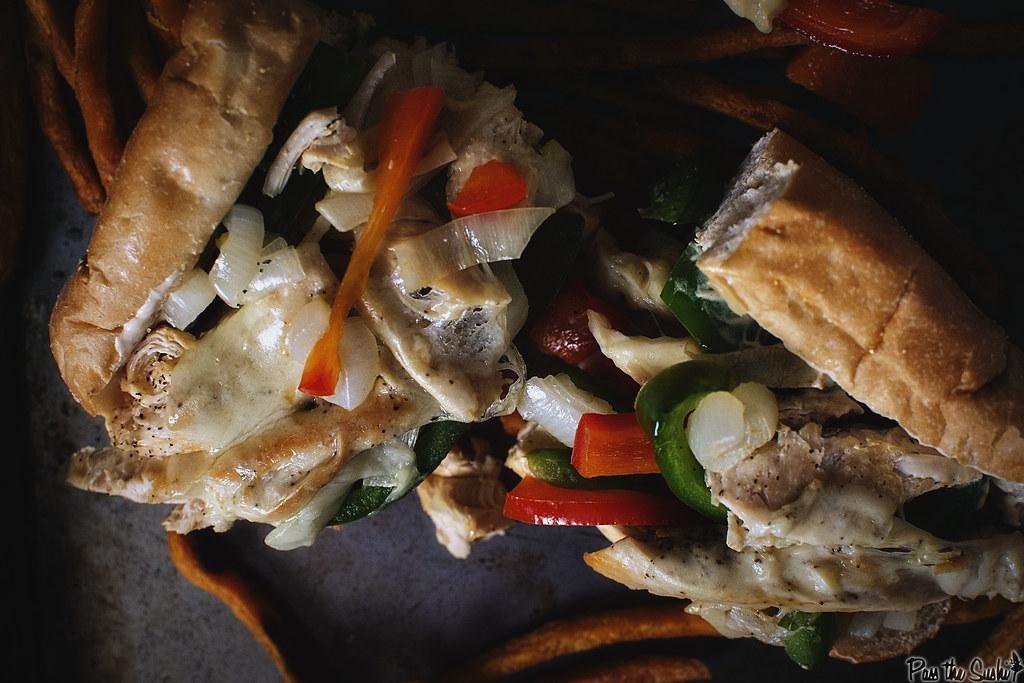 Chicken Cheesesteaks Recipe \\ GirlCarnivore.com