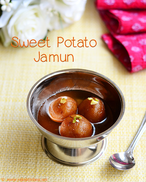 Sweet potato Jamun