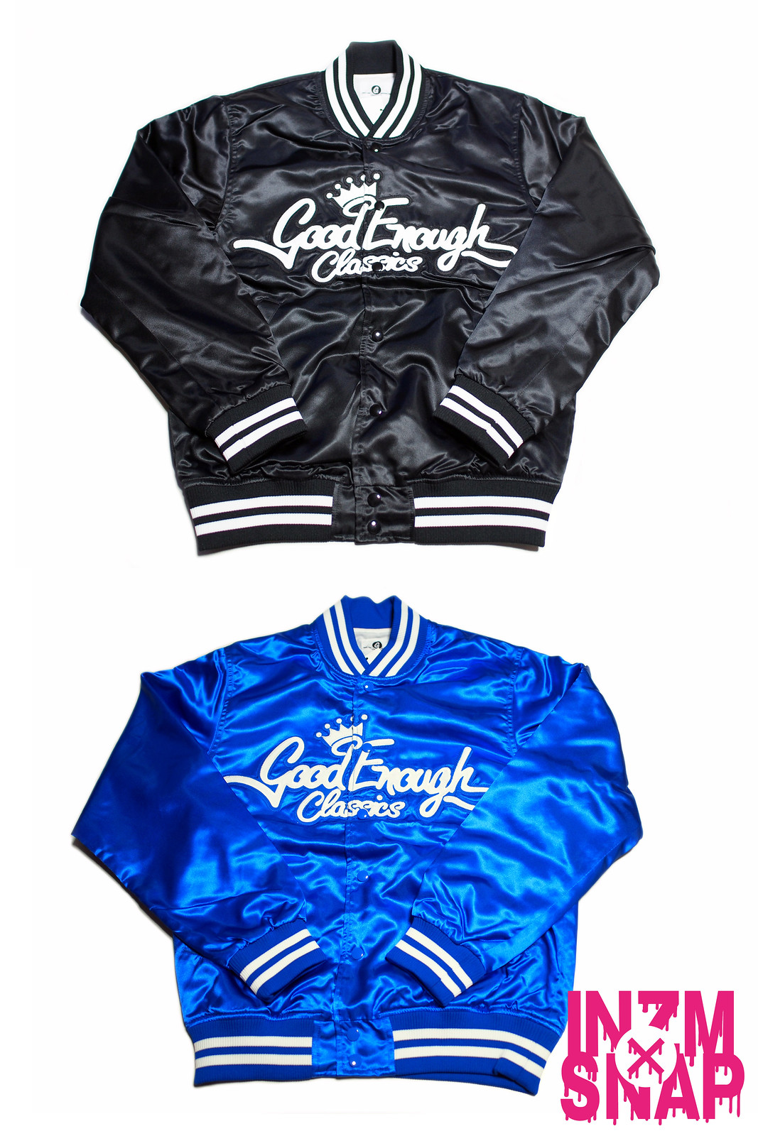 GOODENOUGH | Satin Dugout Jacket