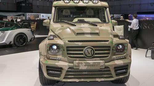 Das Wüstenschiff: Mansory Mercedes G 63 AMG Sahara Edition