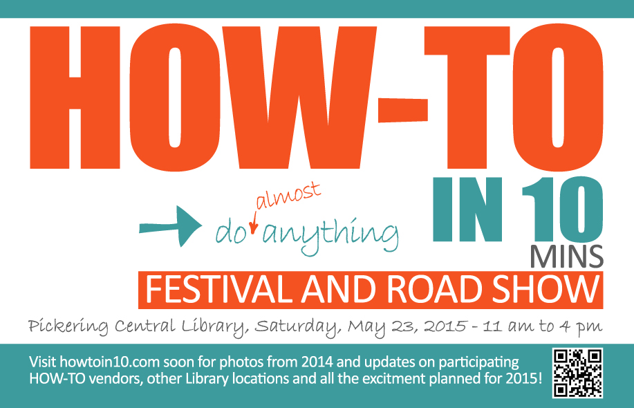 HOW-TO IN 10-FESTIVAL AND ROADSHOW