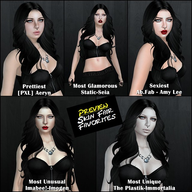 Skin Fair Preview - Favorites