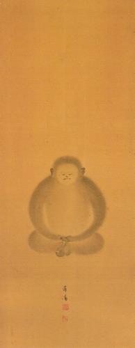 猿の座禅図