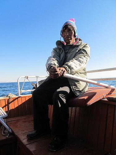 Lac Titicaca: notre capitaine