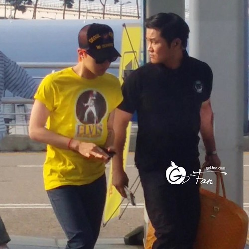 Big Bang - Incheon Airport - 07aug2015 - GD Fan - 01