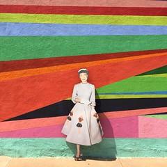 #art #urbanexploration #nurse #color #wall #greenville #texas #sidewalk