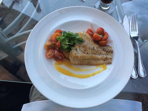 Valparaiso: un merlu à la sauce exotique. Mmm !