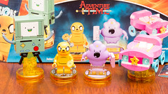 Lego Dimensions: Adventure Time: Jake the Dog and Lumpy Space Princess + BMO, Set 7124