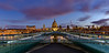 St Paul's Cathedral, London - Morning Blue Hour by L0nglost
