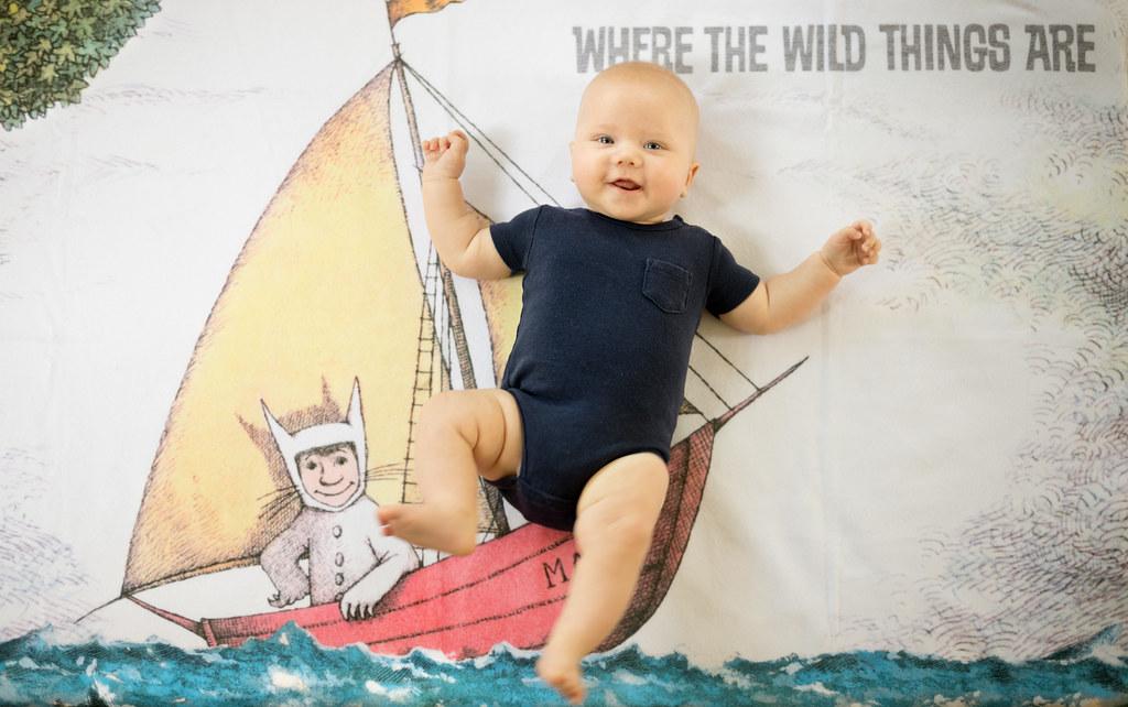 Wild Rumpus (Milo @ 3 months)
