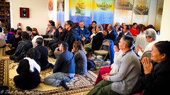 Buddhist faithfuls