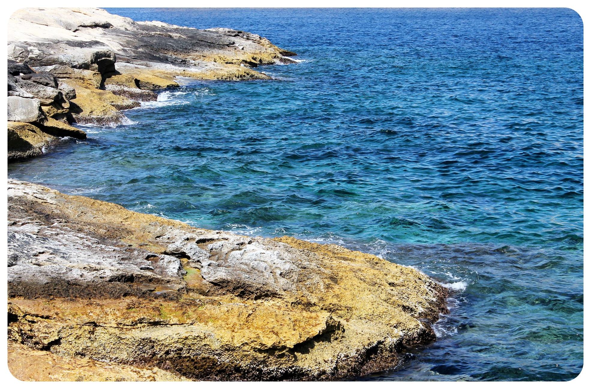 valletta mediterranean shore