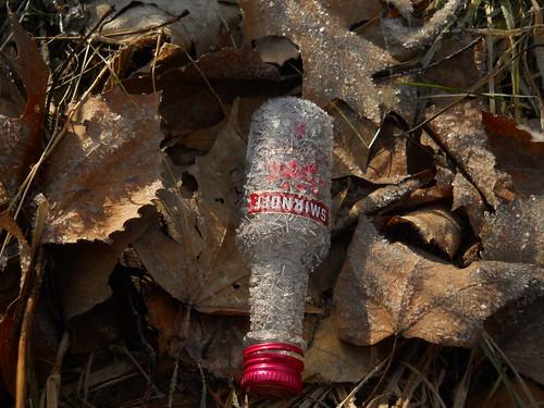 tiny bottle red cap